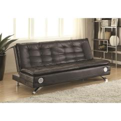 Coaster Futon Sofa Bed With Removable Armrests Review Double Argos 300276 Brown By Thesofa