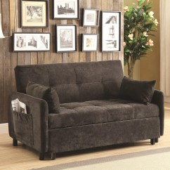 Coaster Futon Sofa Bed With Removable Armrests Review Pull Out Ikea