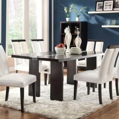 Led Table And Chairs Chromcraft Coaster Kenneth 7 Piece Set With Lit Dining