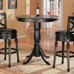 Pub Table And Chairs 3 Piece Set 2 Adirondack Amish Coaster Lathrop Bar Value City