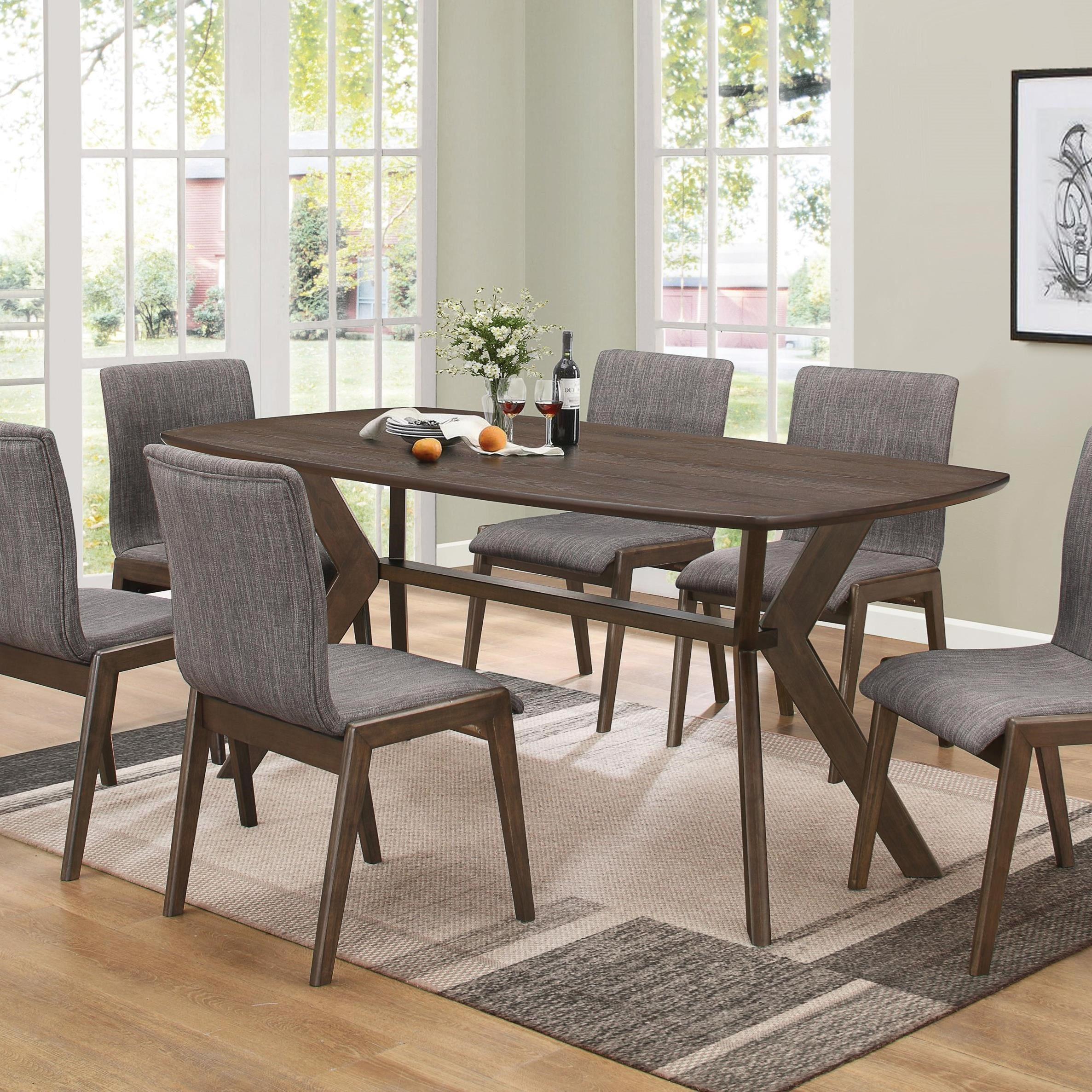retro dining room table and chairs wheelchair meaning coaster mcbride miskelly