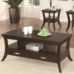 Coaster Fine Furniture Cappuccino Rectangular Console And Sofa Table Top Rated Leather Recliners Occasional Group 702508 Coffee Northeast