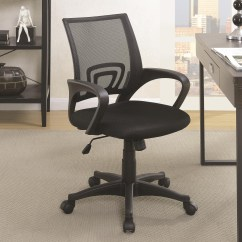 Office Chair Dealers Near Me Under 100 Coaster Chairs 881048 Black Mesh Back
