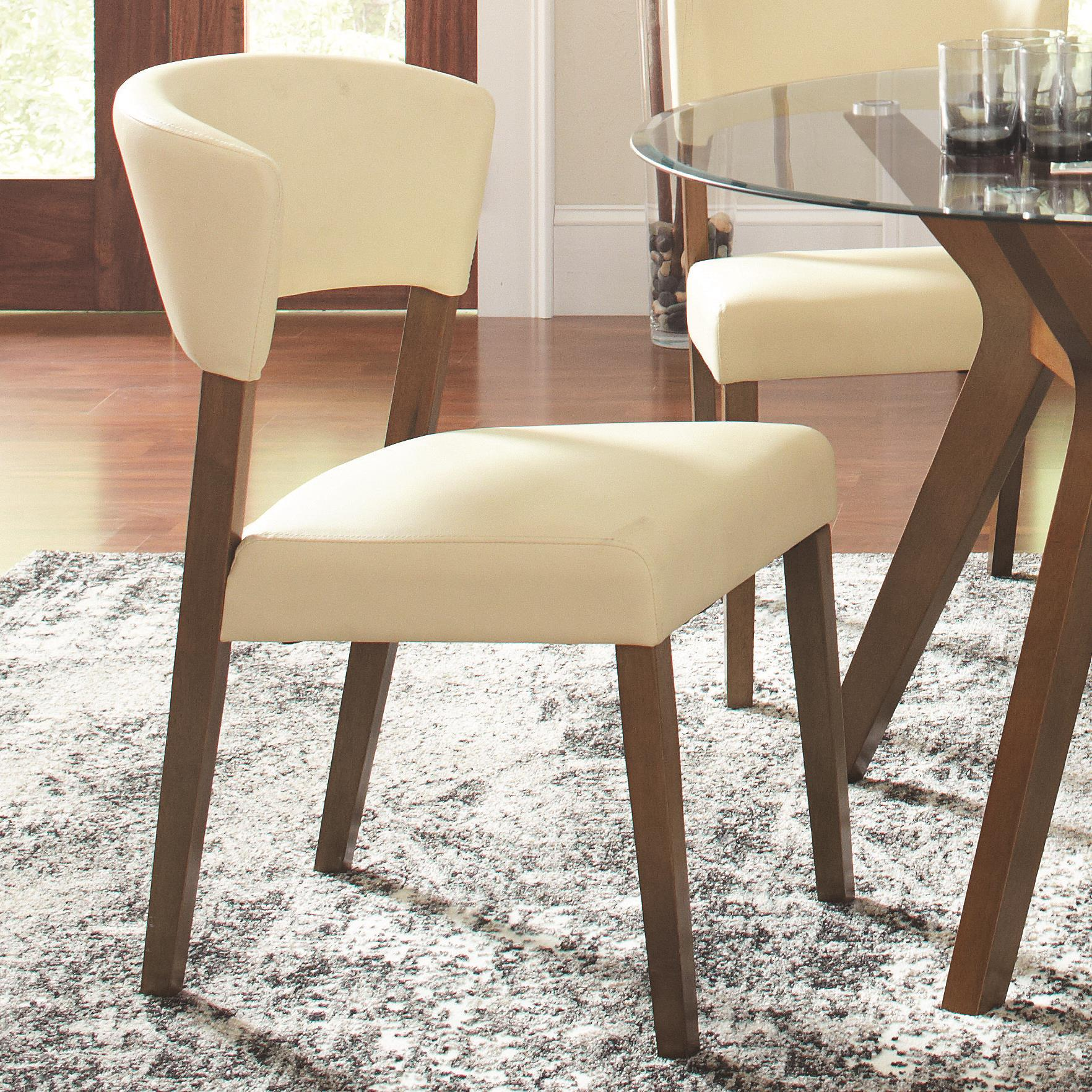Cream Chairs Coaster Paxton 12218 122182 Cream Upholstered Dining Chair