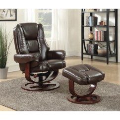 Reclining Chair And Ottoman Folding Design History Coaster Recliners With Ottomans 600086 Plush Recliner