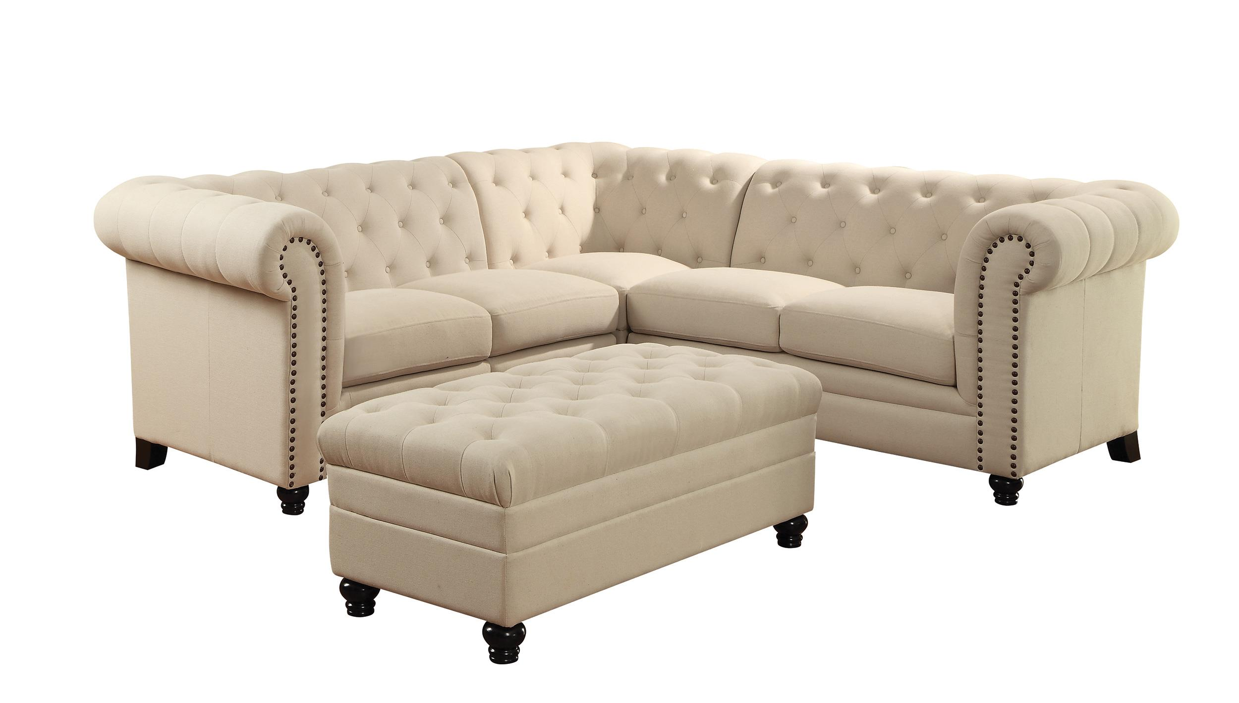 sectional sofa value city furniture enzo corner bed grey coaster roy button tufted