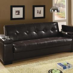 Coasters Sofa Bed Signature Design By Ashley Sleeper Coaster Beds And Futons 300143 Faux Leather
