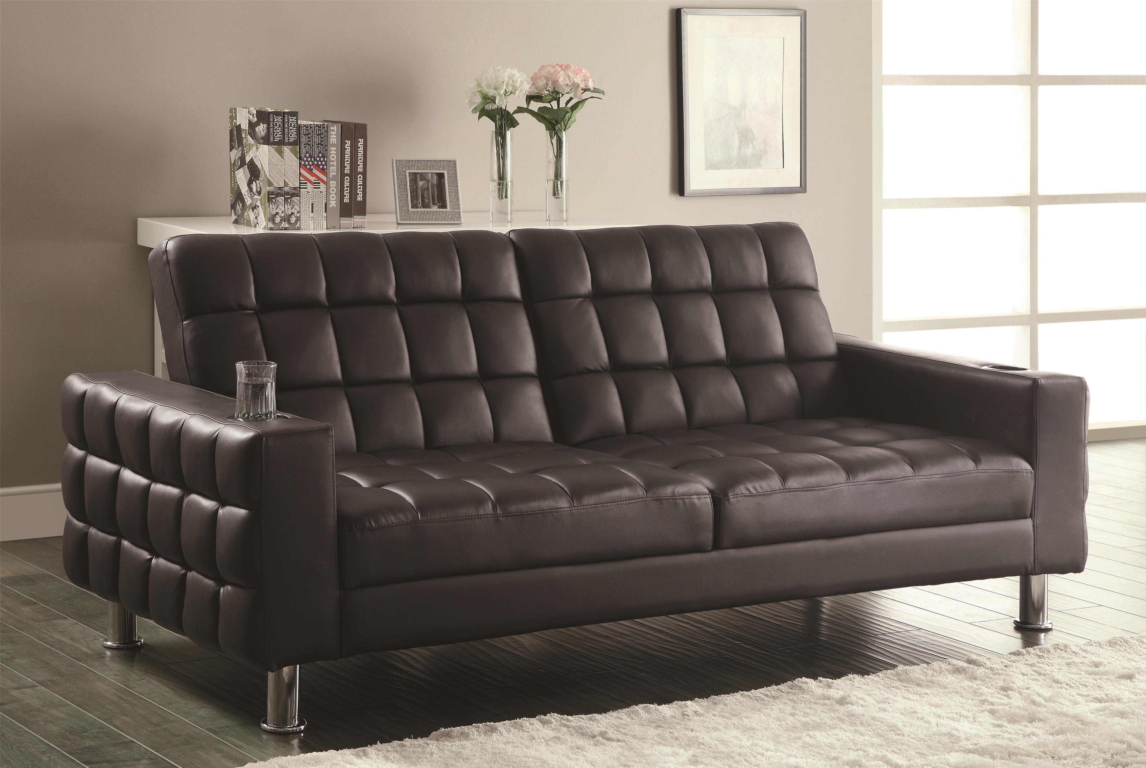 sofa accessories names traditional looking beds coaster and futons adjustable bed with cup