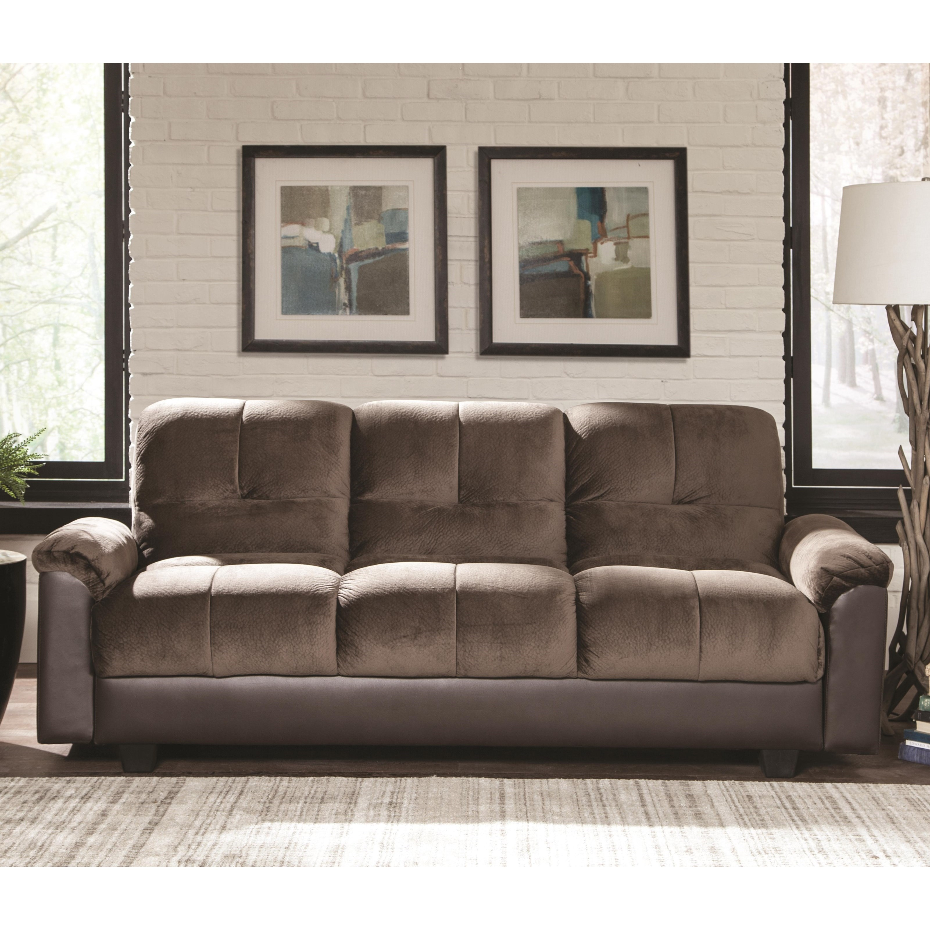 coasters sofa bed helmond sport telstar sofascore coaster beds and futons two tone with