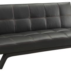 Sofa And Bed Factory Sterling Cognac Brown Italian Leather Loveseat Chair Coaster Beds Futons 500765 Northeast