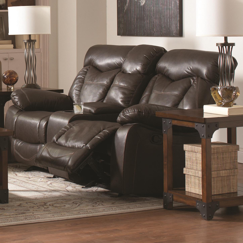 pomona sofa bernhardt andrew price coaster zimmerman 601712 reclining love seat with cup
