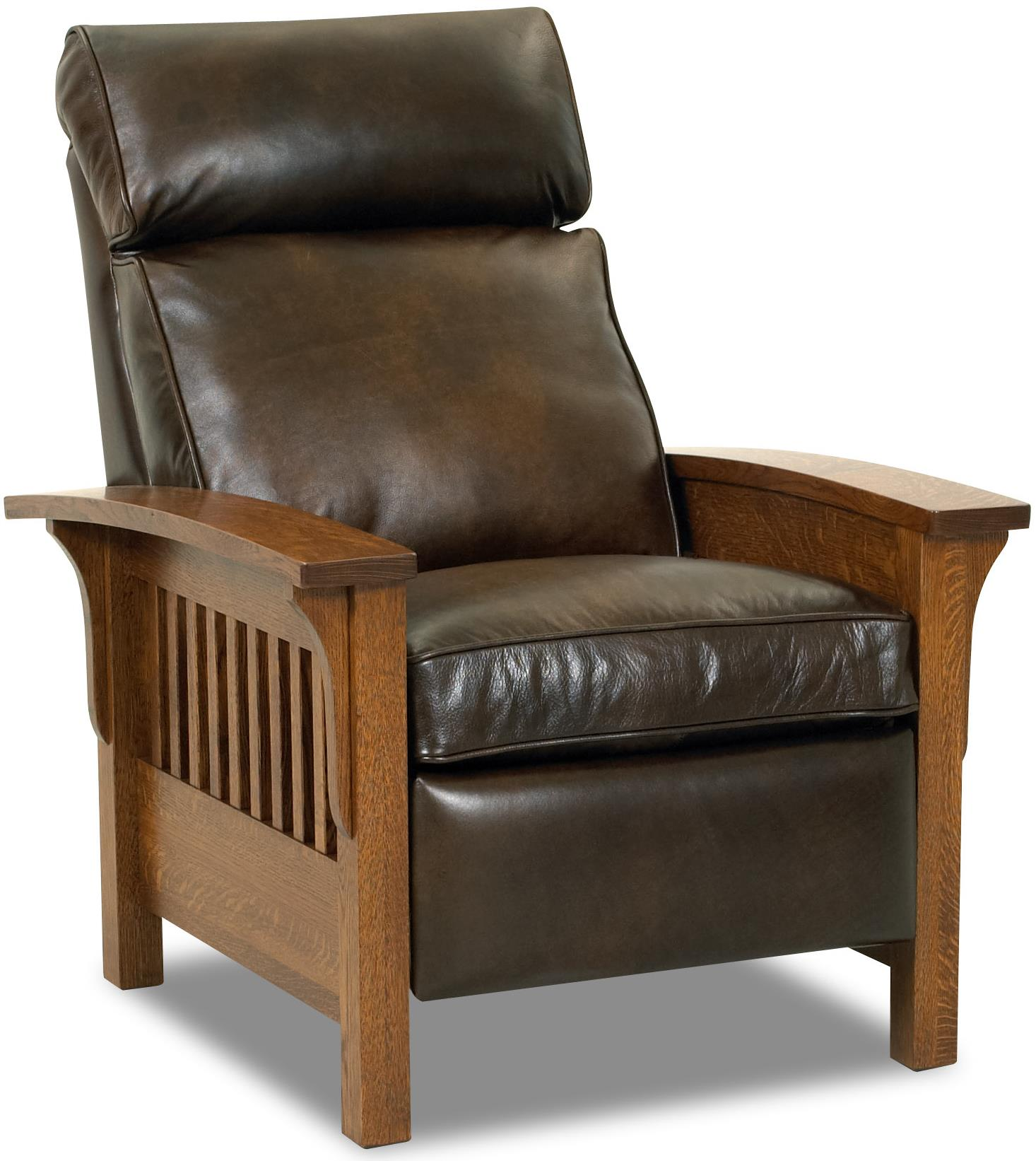 Mission Recliner Chair Comfort Design Mission High Leg Leather Split Recliner