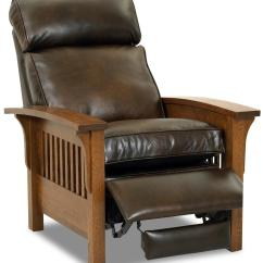 Mission Recliner Chair Plans Portable Lounge Shade Comfort Design High Leg Leather With