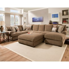 3 Sided Sectional Sofa How To Fix Sagging Cushions Corinthian 61b0 With Right Side Chaise