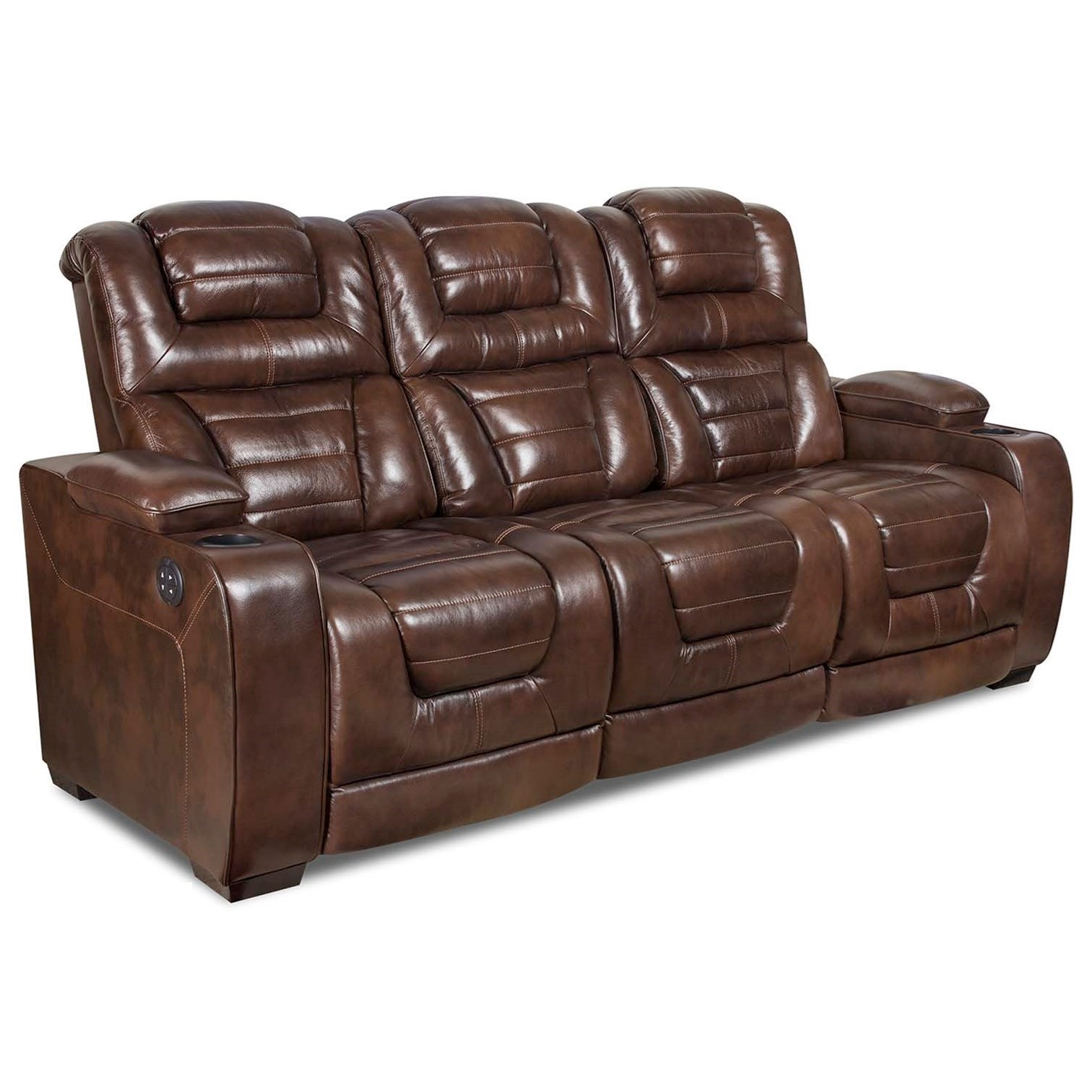 corinthian mead sectional sofa cheap contemporary leather sofas uk desert chocolate 73901 39hr power headrest