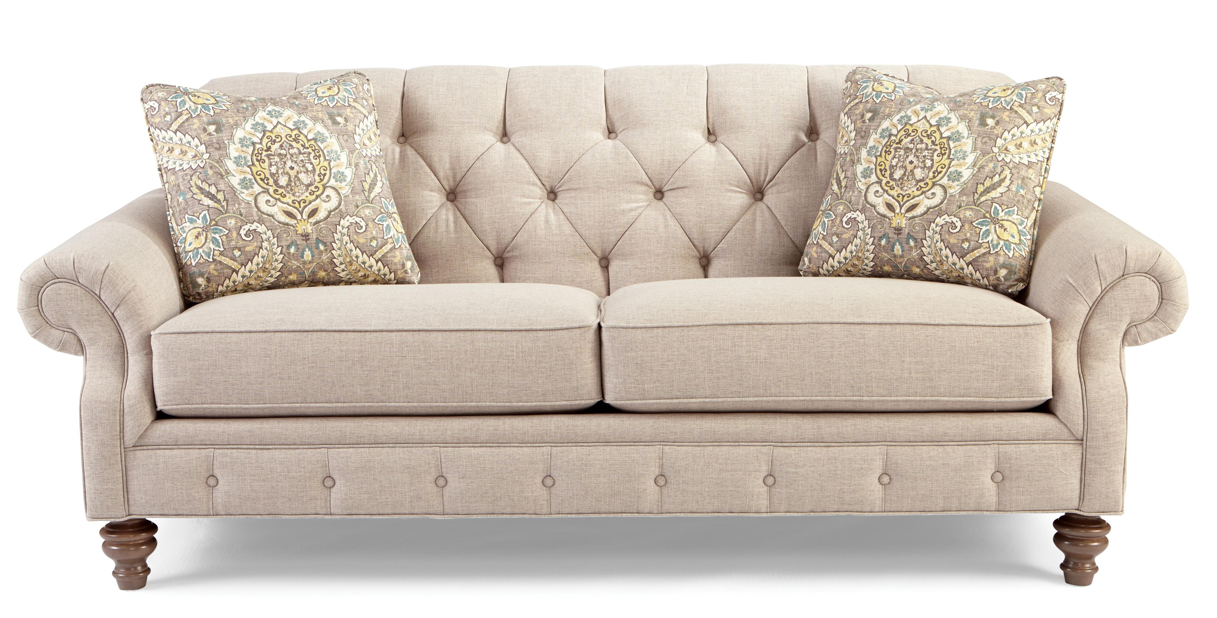 pink tufted sofa for sale water resistant covers craftmaster 7463 746350 traditional button