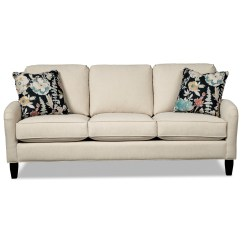 Craftmaster Sofa Prices Shalimar Leather Furniture Village 777250 Apartment With Pleated Arms