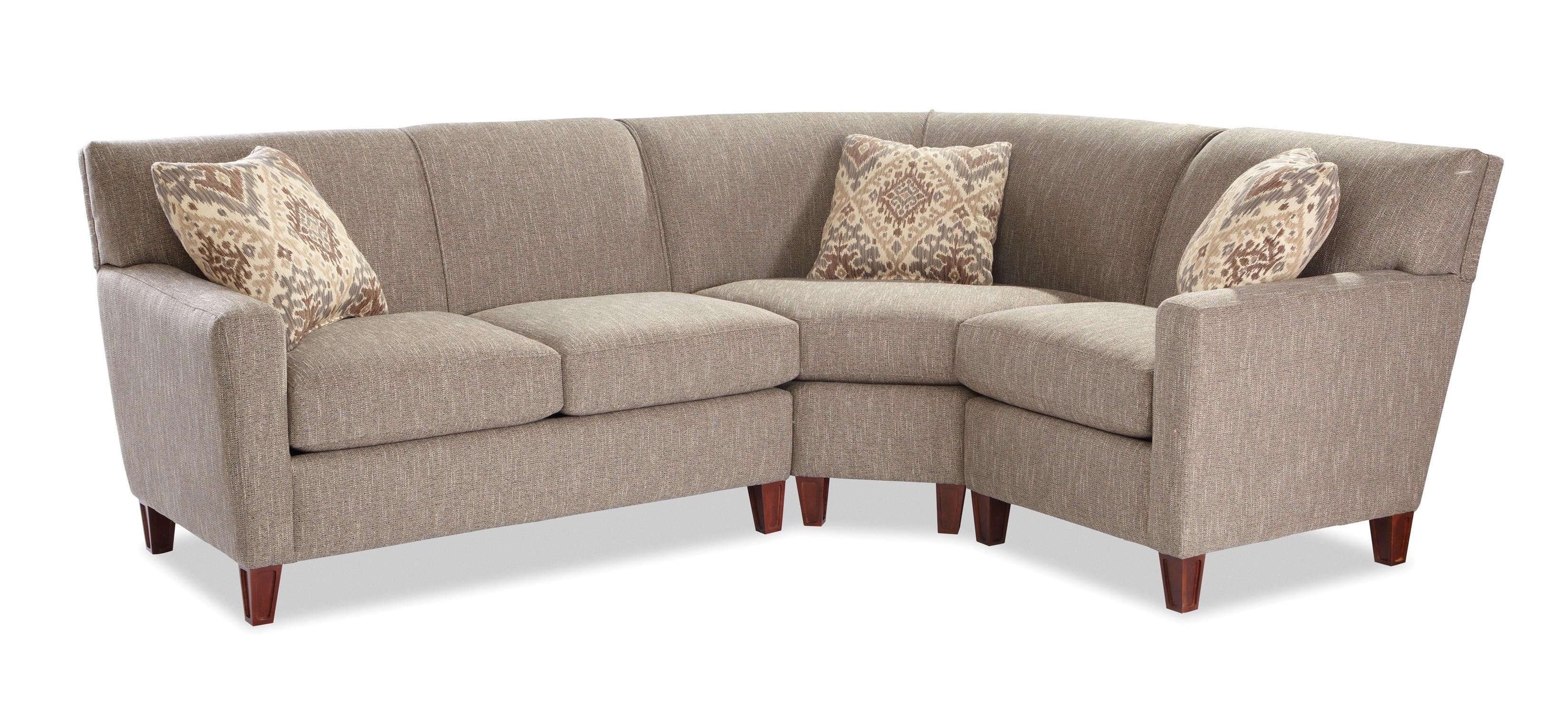 3 pc sectional sofa with recliners asda beds uk craftmaster 7864 three piece laf