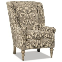 Black And White Paisley Accent Chair Office Second Hand Craftmaster Chairs Traditional With Modified