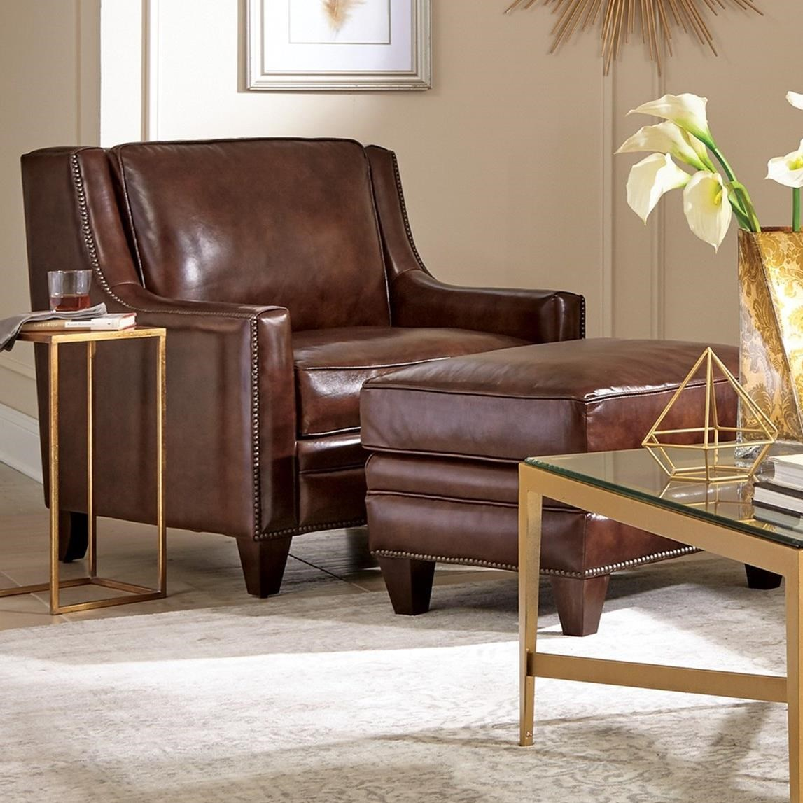 craftmaster chair and a half bedroom uk l162550 transitional ottoman set with