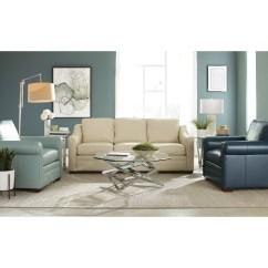 Crescent Sofa Leather Pillow Craftmaster L9 Custom Design Options Customizable