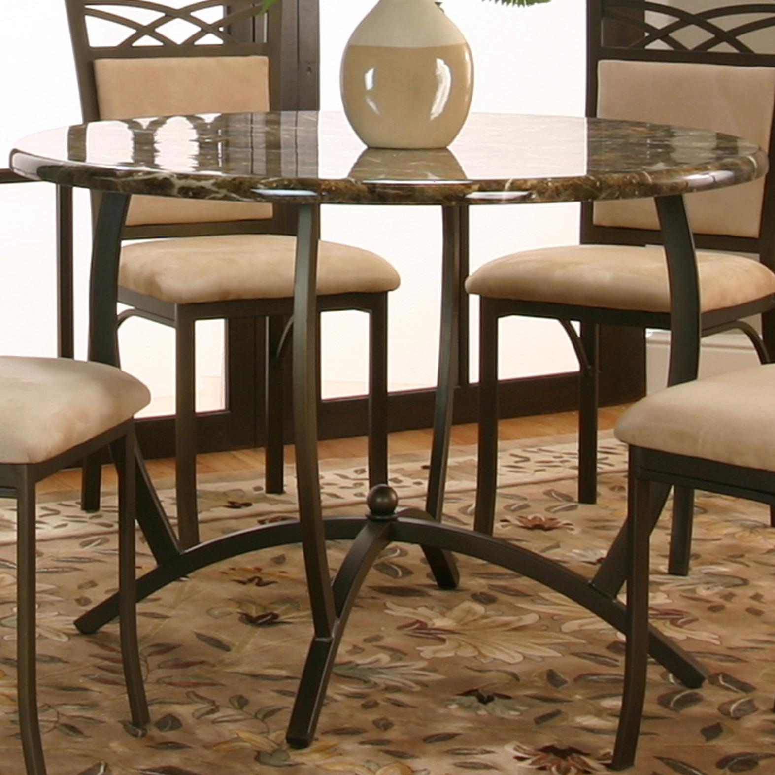 marble top table with 4 chairs recliner chair covers india cramco inc atlas round dinner w faux