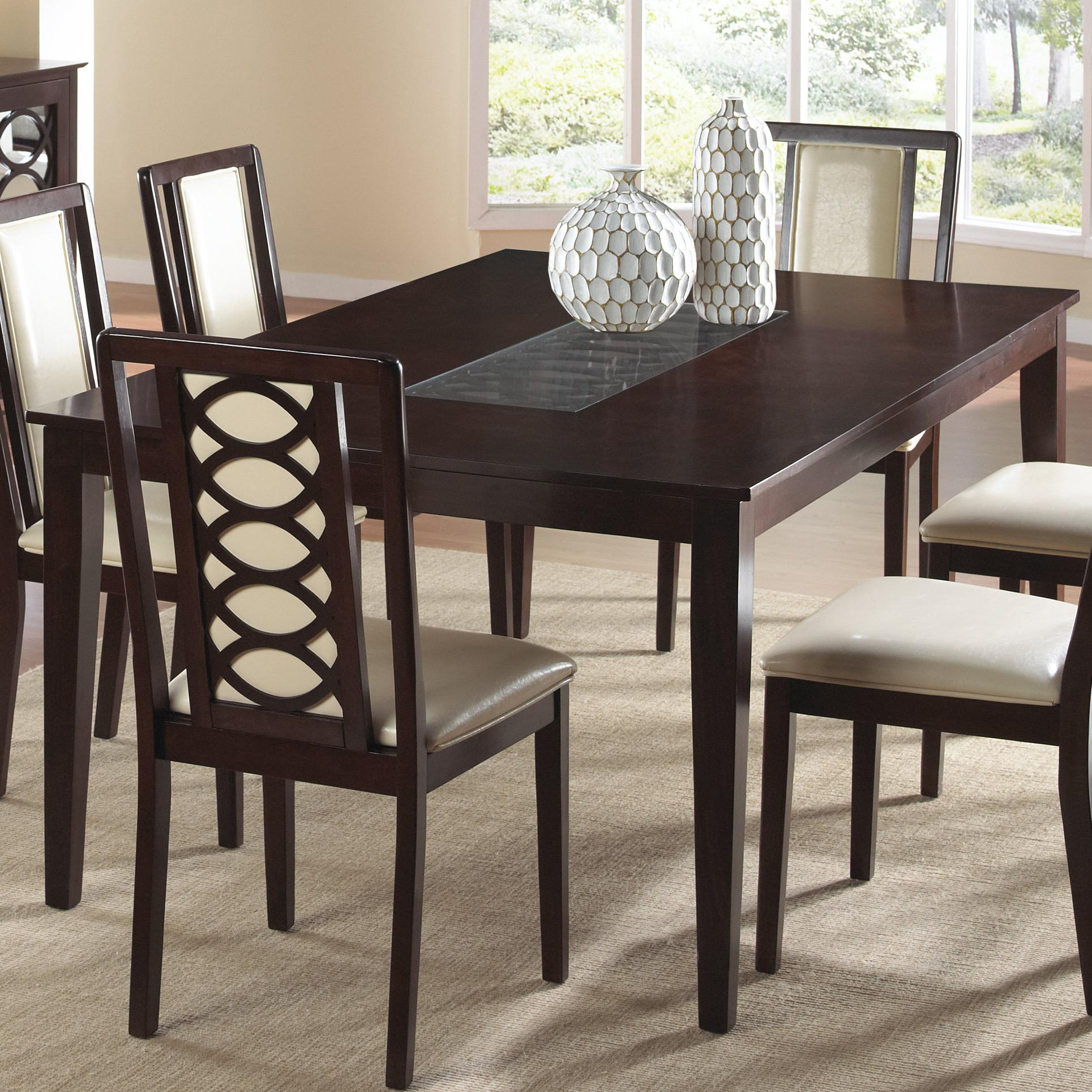 value city furniture kitchen tables remodel estimate cramco inc jasmyn rectangular wood table