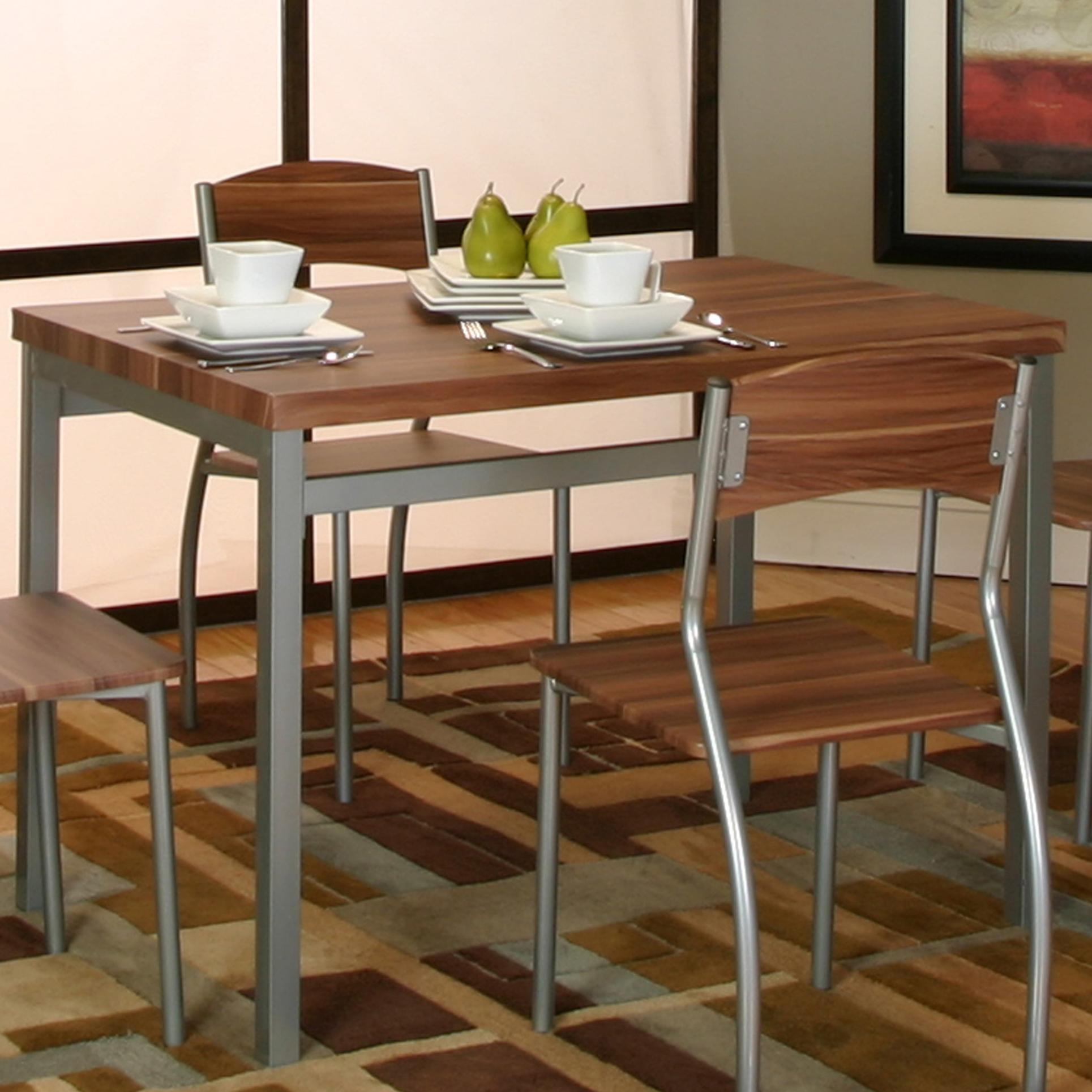 value city kitchen sets virtual designer online cramco inc lark platinum acacia veneer table