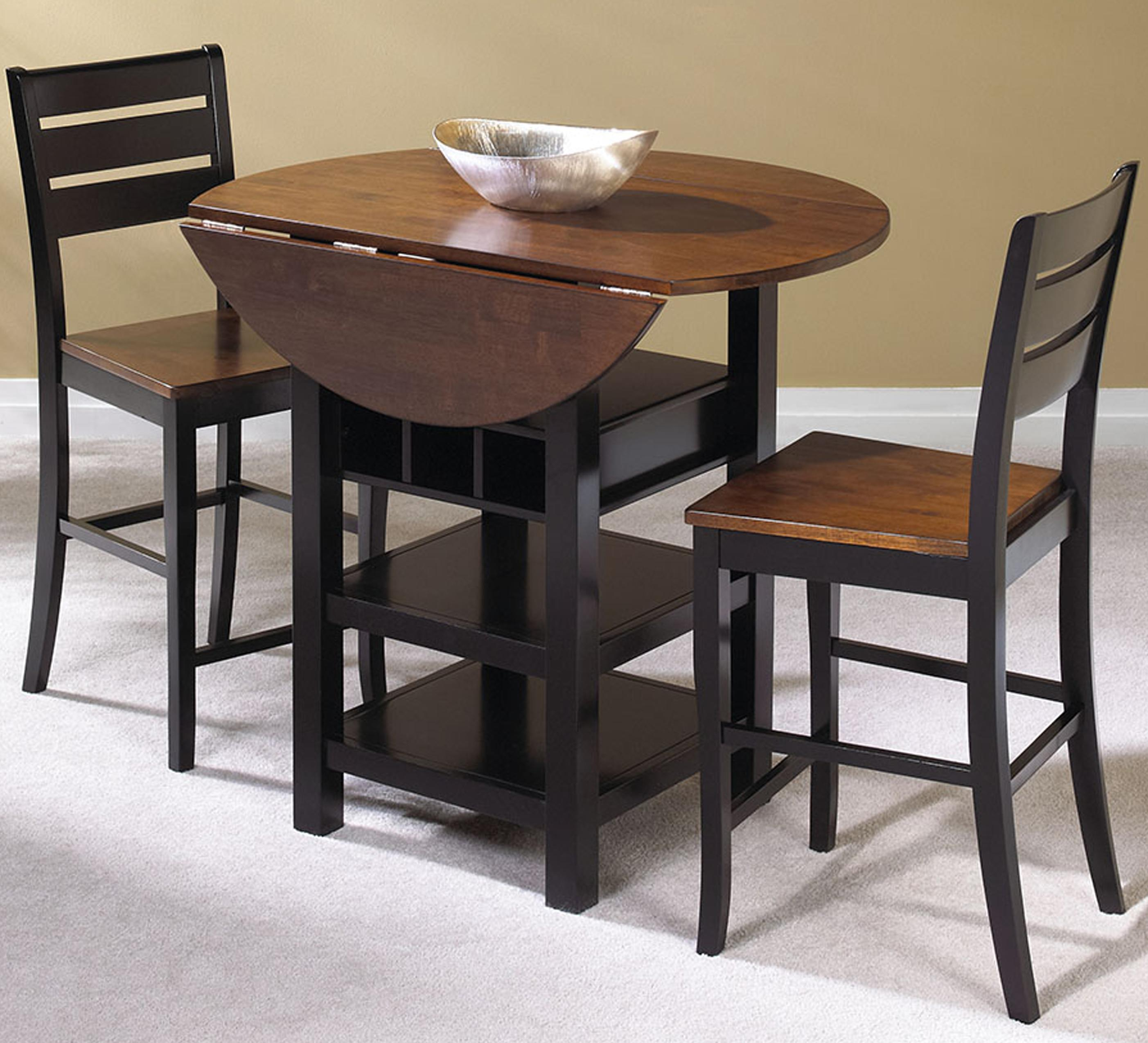 pub table and chairs 3 piece set 2 little tikes with drawers cramco inc quincy johnny janosik