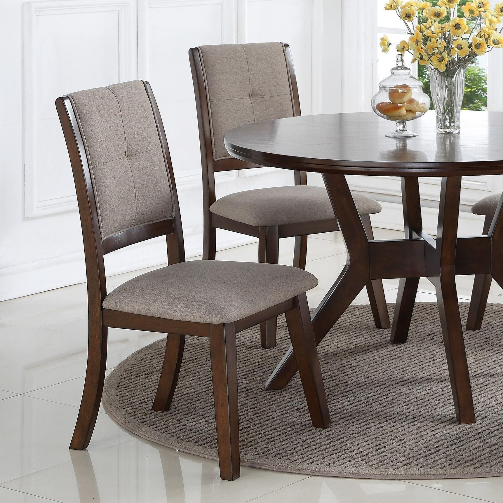 Crown Chair Crown Mark Barney Upholstered Dining Chair Royal