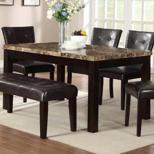 Granite Top Dining Room Table