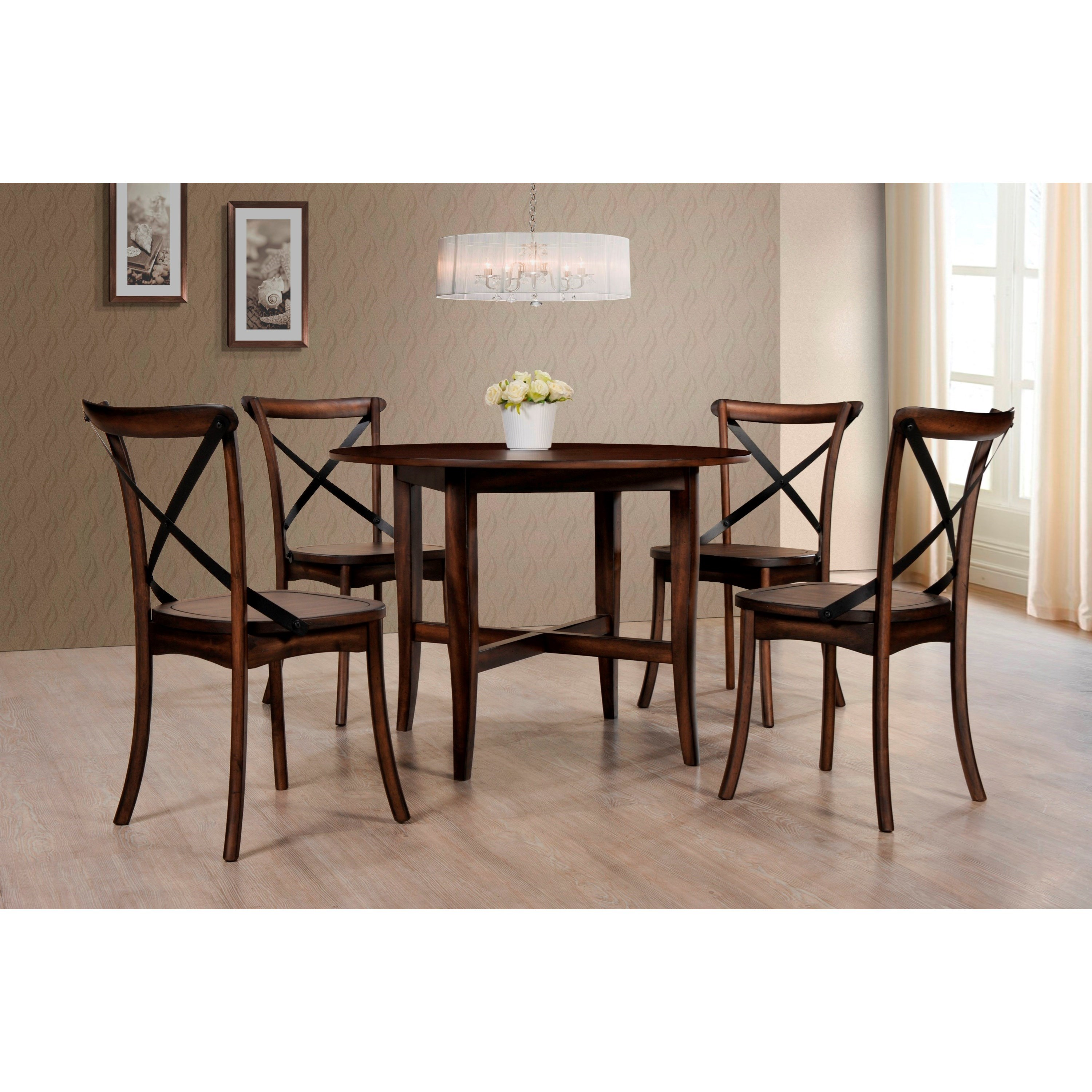 pewter kitchen table and chairs quatropi swing chair crown mark farris 2285t 48 dining round with