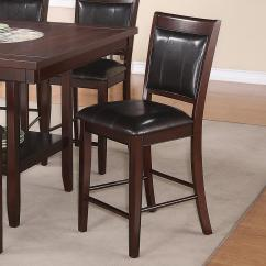 Bar Height Desk Chairs Chair Cover Rental Malaysia Crown Mark Fulton Transitional Counter