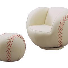 Kids Sports Chairs Ergonomic Chair Drawing Crown Mark Sport Baseball Swivel