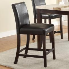 Upholstered Counter Height Chairs Chair And Half Rocker Crown Mark Larissa 2722s 24