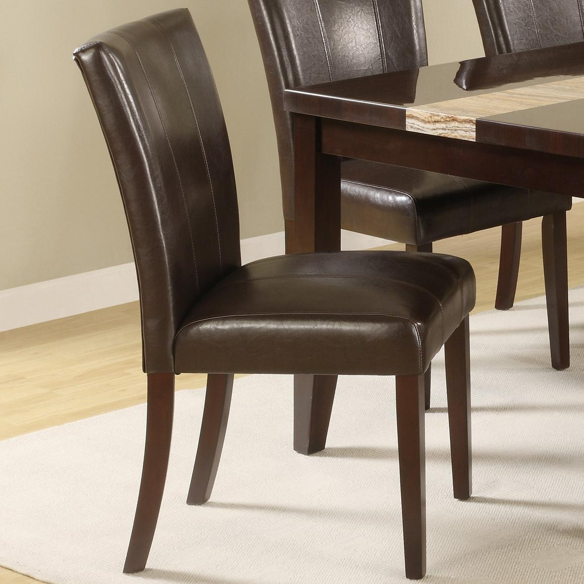 Crown Chair Crown Mark Madrid And Ferrara Upholstered Side Chair Royal