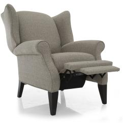 Push Back Chair Shipping A Cross Country Taelor Designs 2220 Traditional High Leg Recliner Wing