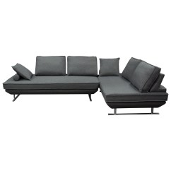 Diamond Sofa Dolce Large Brown Leather Bed Dolcelg2pcgr2 Contemporary Lounger
