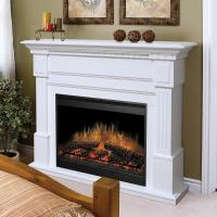 Dimplex Flat-Wall Fireplaces GDS30-1086W Essex White ...