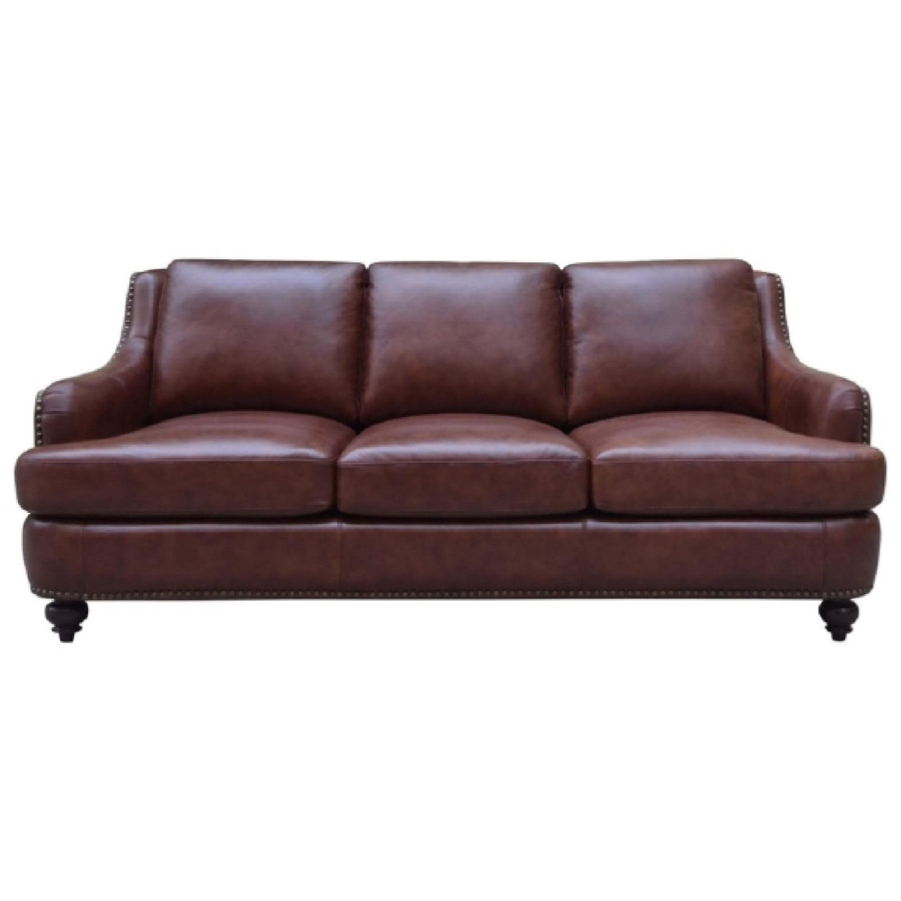 nailhead trim leather sofa set sofas sets uk elements napoli with royal