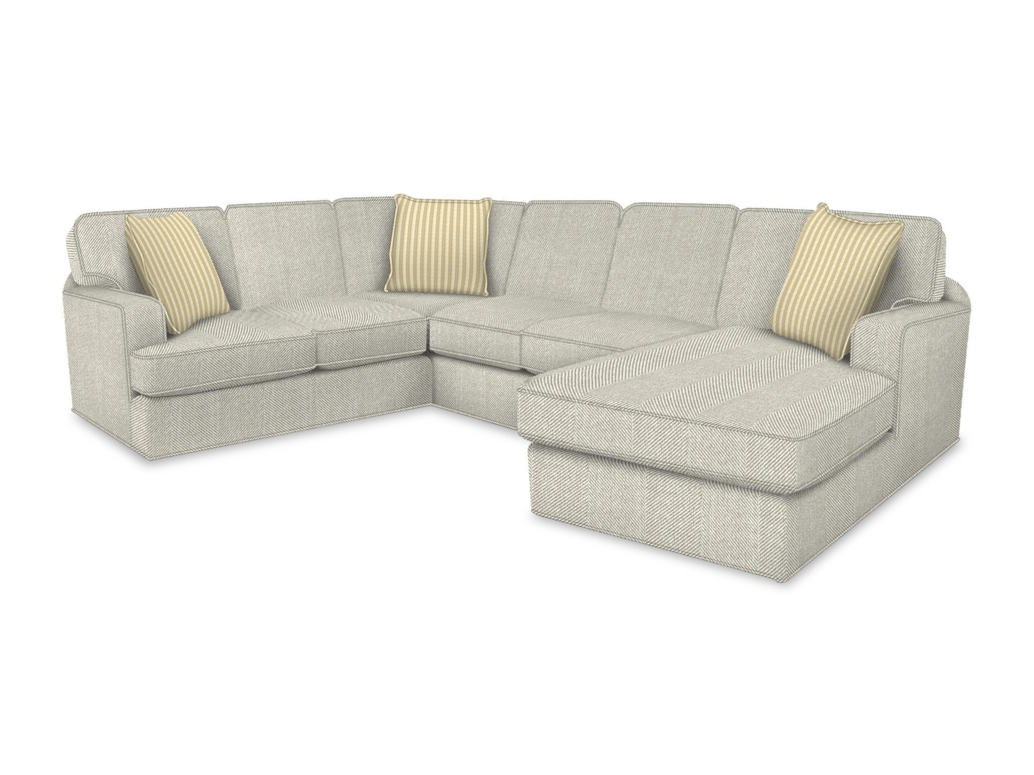 abbie right chaise sectional sofa with large cushions by england recliner sofas 17 best furniture
