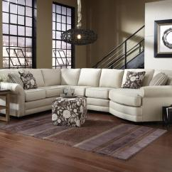 England Sofas Reviews Foam Sleeper Sofa Queen Brantley 5 Seat Sectional With Cuddler Dunk