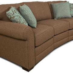 Conversational Sofa Cover One Piece Stretch Covers England Brantley 3 Conversation Dunk And Bright