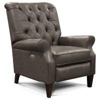 England Conway 5U031AL All Leather Push Back Recliner with