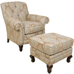 Chairs And Ottomans Upholstered Counter Height Round Table England Christopher Traditional Chair