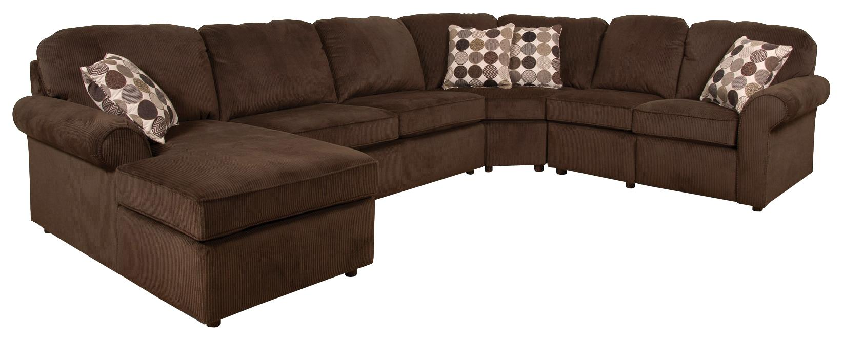 cream full leather chaise sectional sofa restoration hardware maxwell review england malibu 5-6 seat (left side) | h.l ...