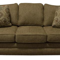 Leather Sleeper Sofa With Nailheads Ravenna Lounger Bed England Walters Nailhead Trim Prime