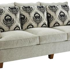 Fairfield Sofa Bed Rust 3778 Contemporary Belfort Furniture