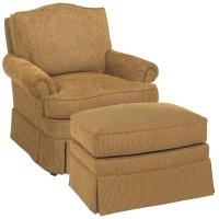 Fairfield Chairs Camel Back Swivel Chair | Olinde's ...