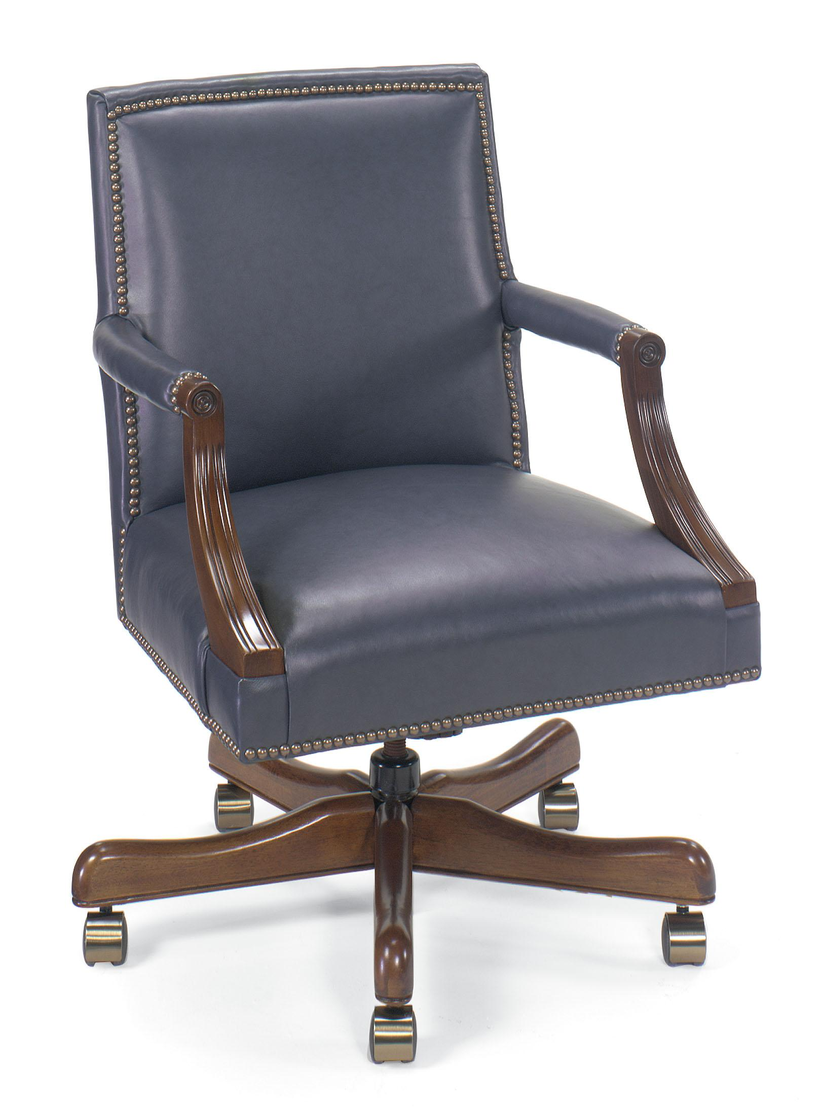 swivel chair jargon real good copper fairfield office furnishings leather executive